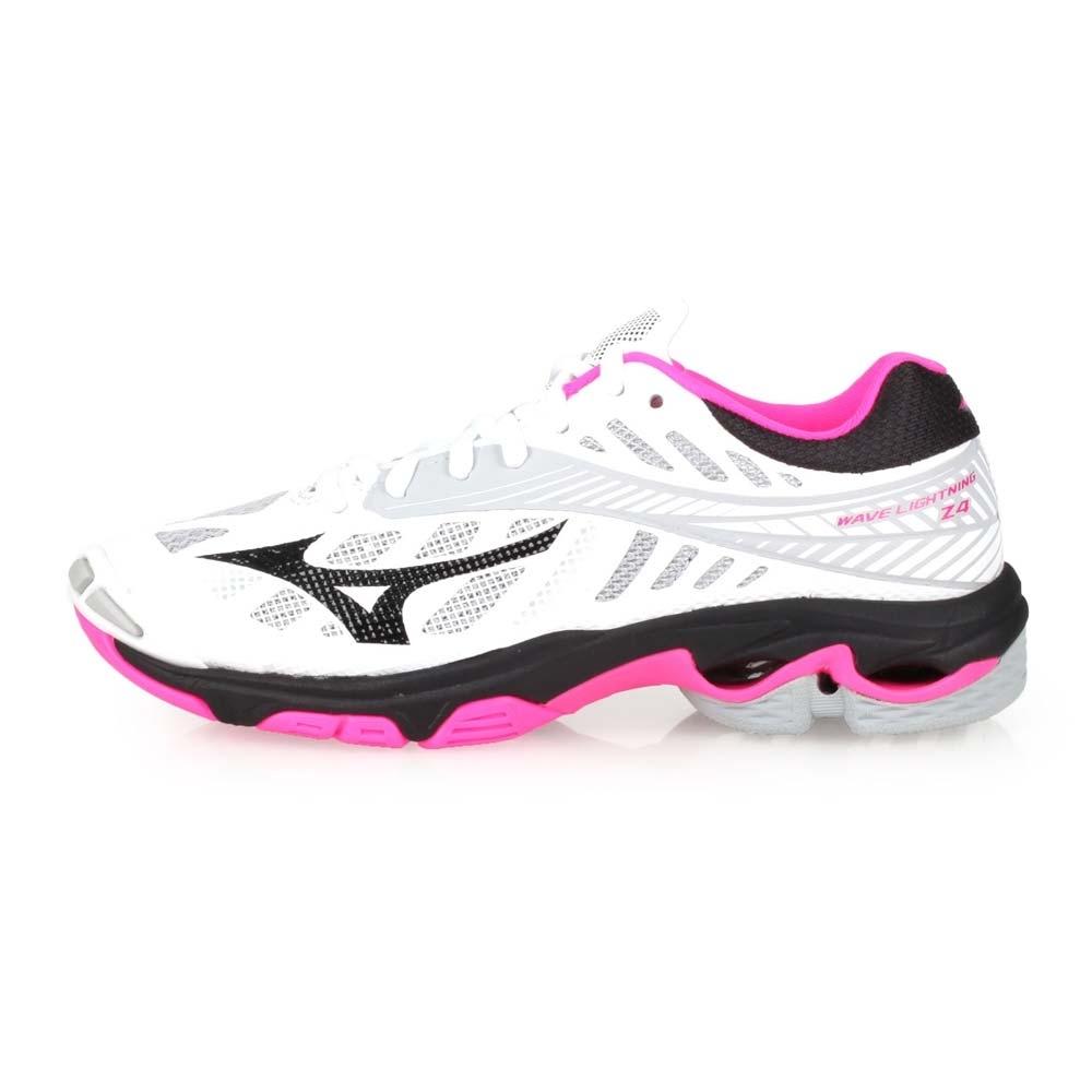 MIZUNO WAVE LIGHTNING Z4 女排球鞋- 白粉灰黑