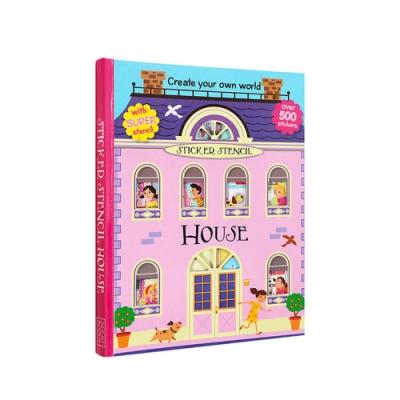 【Godmom】靜電貼紙書-房屋設計師House