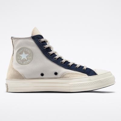 CONVERSE CHUCK 70 COURT HI 高筒 休閒鞋 男鞋 女鞋 米藍色-171686C