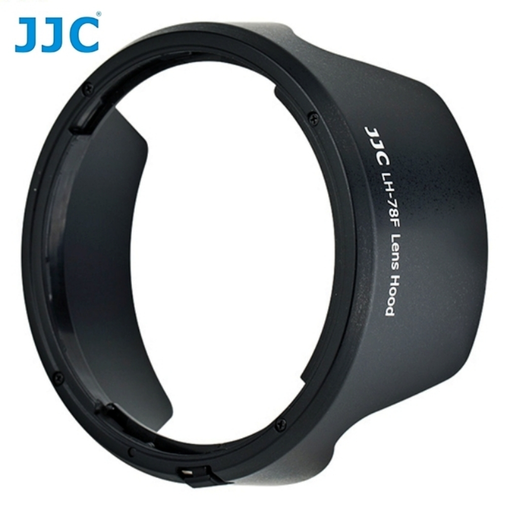JJC佳能Canon副廠遮光罩LH-73D相容Canon原廠遮光罩EW-73D遮光罩太陽罩lens hood
