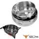 韓國SELPA 304不鏽鋼兩件碗 摺疊把手 product thumbnail 1