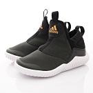 adidas童鞋 帥氣襪套式休閒鞋款 EIEI121黑灰(中小童段)