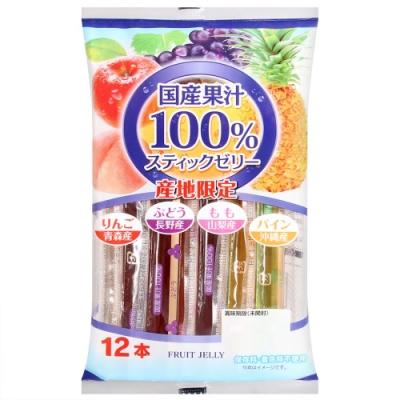 農水Foods 日本國產果凍條-水果風味(192g)