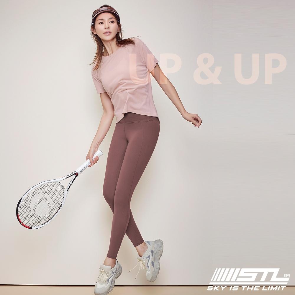 STL yoga legging UP&UP 9 韓國 運動機能 超高腰 拉提訓練 緊身長褲 瑜珈/重訓/路跑/登山 乾燥玫瑰DryRose