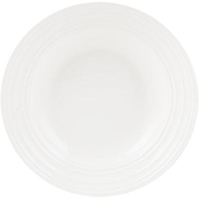 CreativeTops Mikasa漣漪骨瓷深餐盤(23.2cm)