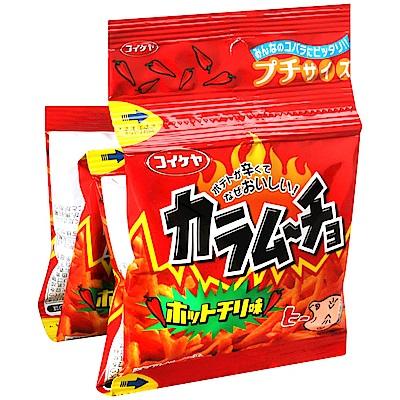 湖池屋 4連脆薯條-辣味(52g)