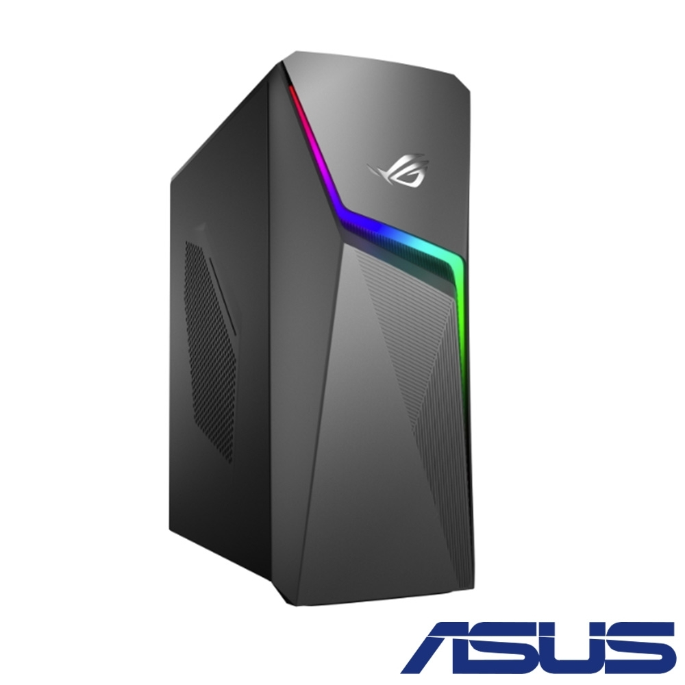 ASUS華碩 GL10CS 九代i7八核雙碟獨顯電競桌上型電腦(i7-9700K/GTX 1660Ti/8G/1T/256G/Win10h)