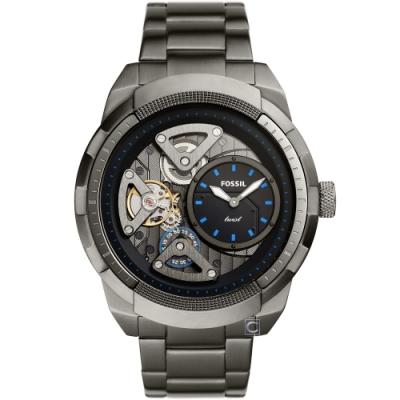 Fossil BRONSON FOSSIL Twist 雙機芯鏤空腕錶(ME1171)