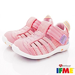 IFME健康機能鞋 輕量透氣排水款 NI00701粉(寶寶段)