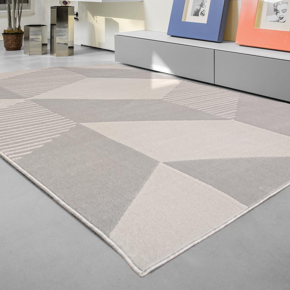 范登伯格 - 敦爾特 幾何都會地毯 - 城市風 ( 160 x 230cm)