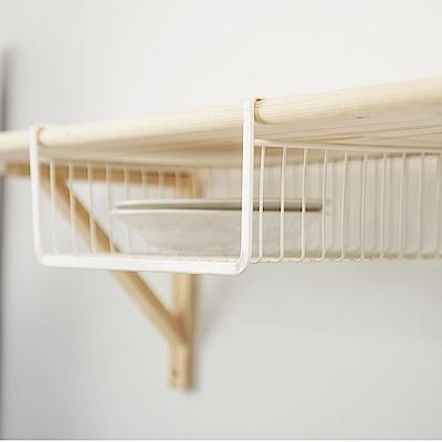 完美主義 層板置物籃/盤架/收納架/衣物收納/廚房收納(2入)