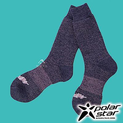 【PolarStar】羊毛保暖雪襪 (3入組)『藍紫』P17610