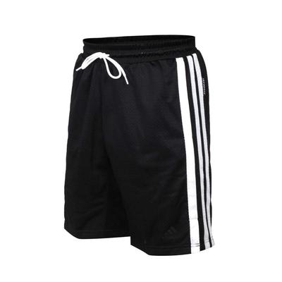 ADIDAS 男運動短褲-亞規 針織 五分褲 慢跑 路跑 吸濕排汗 愛迪達 GK8382 黑白