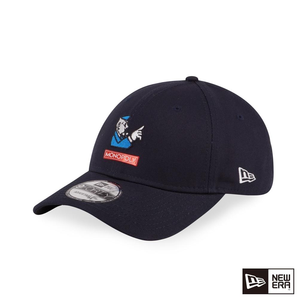 NEW ERA 9FORTY 940 大富翁 深藍 棒球帽