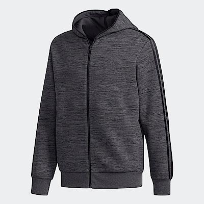 adidas 三條線經典連帽外套 男  DT2490