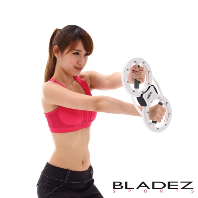 【BLADEZ】「臂熱」全新二代 可調阻力-女性4磅(健腹器/健臂器)