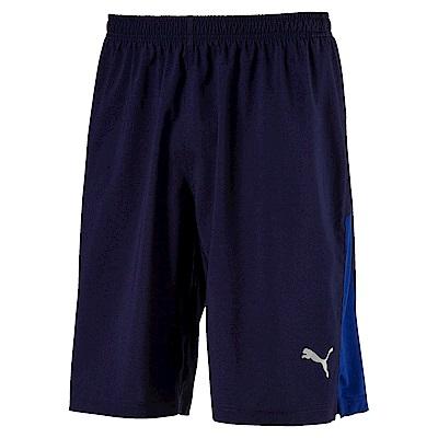 PUMA-男性慢跑系列10吋風短褲-重深藍-歐規