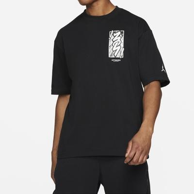 NIKE 耐吉 上衣 短袖上衣 運動 男款 黑 DH0593-010 AS M J ZION DF SS TEE