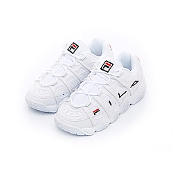 FILA BARRICADE中性復古運動鞋-白 4-B007T-111