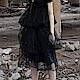 設計所在Style-暗黑風透氣層次網紗裙蓬蓬裙 product thumbnail 1