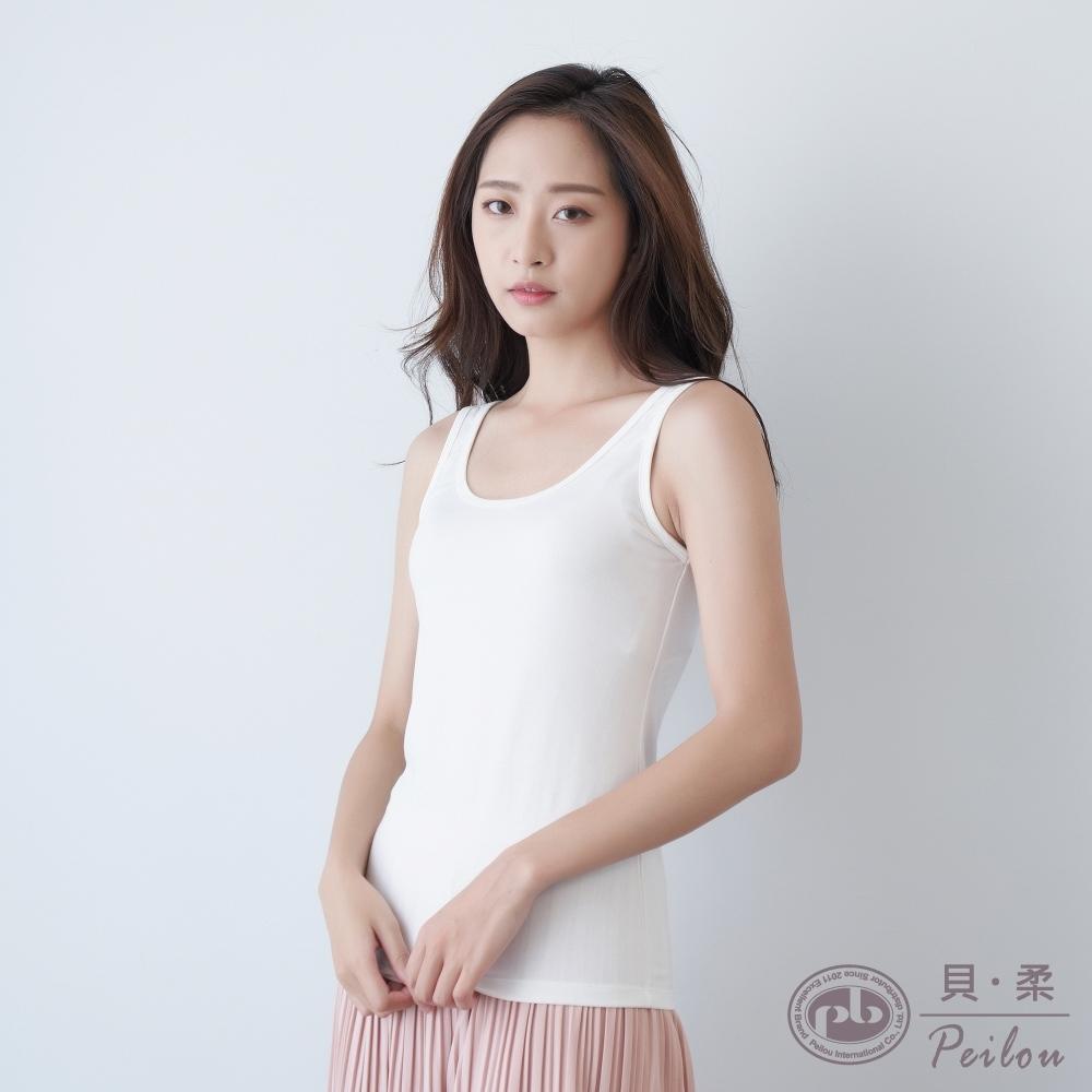貝柔Tencel 機能吸濕發熱保暖衣_無袖背心(3色)