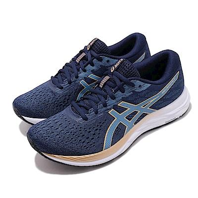 Asics 慢跑鞋 Gel-Excite 7 運動休閒 女鞋 亞瑟士 路跑 避震 緩衝 亞瑟膠 藍 白 1012A562403