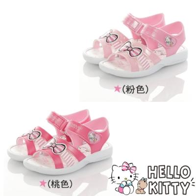 Hello Kitty童鞋 輕量減壓休閒涼鞋-粉.桃