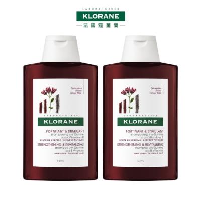 (品牌直營) KLORANE 蔻蘿蘭 養髮洗髮精200ml x2入