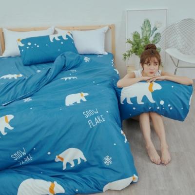 BUHO 乾爽專利機能涼被床包四件組-雙人加大(溫室光所)