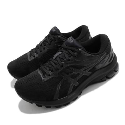 Asics 慢跑鞋 GT-1000 10 D 寬楦 女鞋 亞瑟士 支撐型 穩定 運動休閒 黑 1012A879006