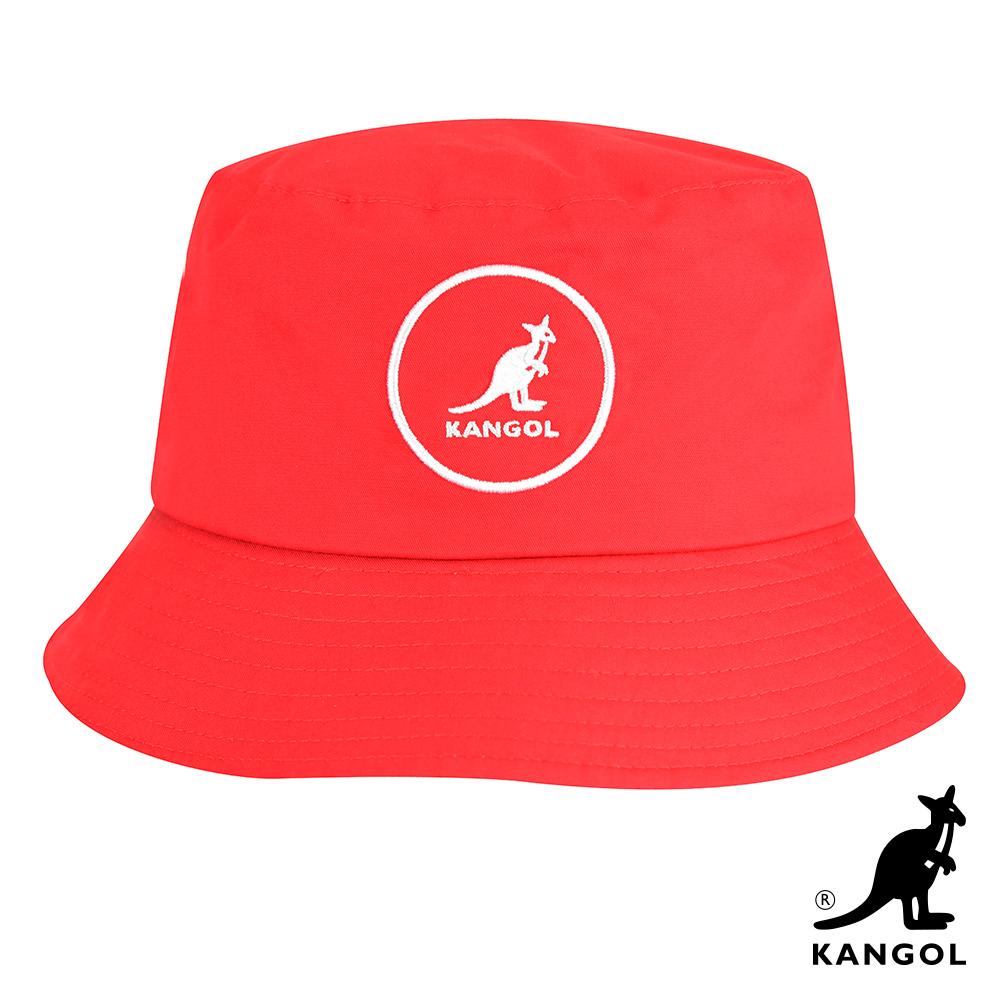 KANGOL-COTTON BUCKET 漁夫帽-紅色