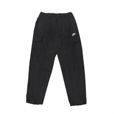 Nike 長褲 NSW Woven Pants 男款 工作褲 工裝 風褲 休閒 穿搭 黑 白 CU4326010