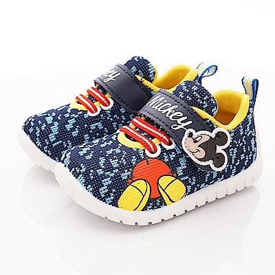 迪士尼童鞋 米奇針織休閒鞋款 ON19307藍(小童段)