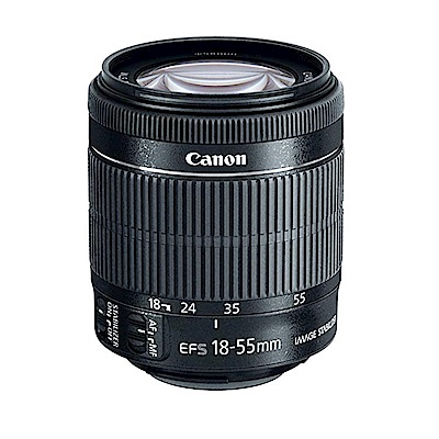 CANON EF-S 18-55mm F3.5-5.6 IS STM (平行輸入) 白盒