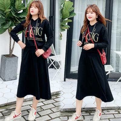 【韓國K.W.】(預購)嬌豔圖紋印花二件式套裝裙-1色