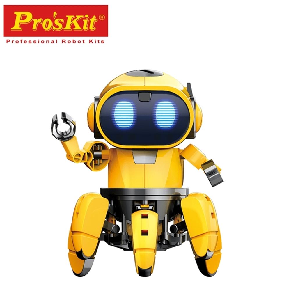 台灣製造Proskit寶工科學玩具紅外線AI智能寶比GE-893