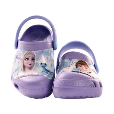 台灣製迪士尼冰雪奇緣輕便晴雨休閒鞋 sa04717 魔法Baby