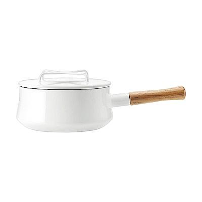 DANSK 琺瑯單耳燉煮鍋(白色)