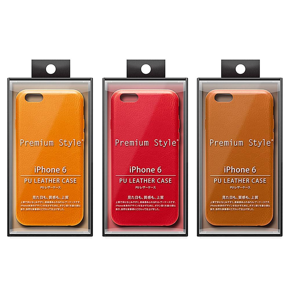 PGA iPhone 6S/6 4.7吋 素面 質感皮革 手機硬殼