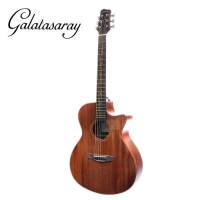 Galatasaray GA10 S 面單桃花心木民謠木吉他