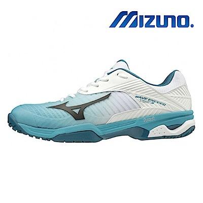 美津濃 WAVE EXCEED TOUR 3 AC 男 職業級網球鞋 綠白