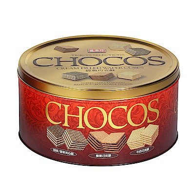 盛香珍 巧克酥禮桶(433g)