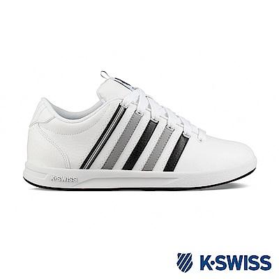 K-SWISS Court Pro S CMF時尚運動鞋-男-白/灰/黑