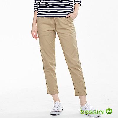 bossini女裝-輕鬆長褲01黃銅色