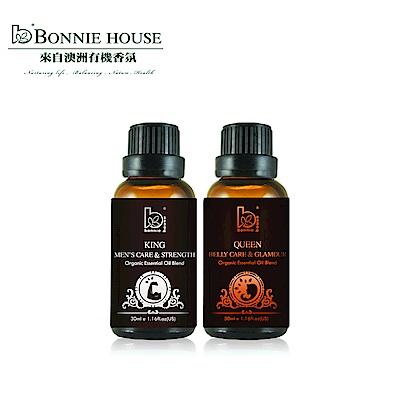 Bonnie House 兩情相悅身心覺醒精油精油30ml+腹宮青春激活精油30ml