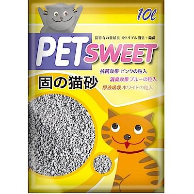 PET SWEET派斯威特 加菲貓貓砂 10L 兩包組