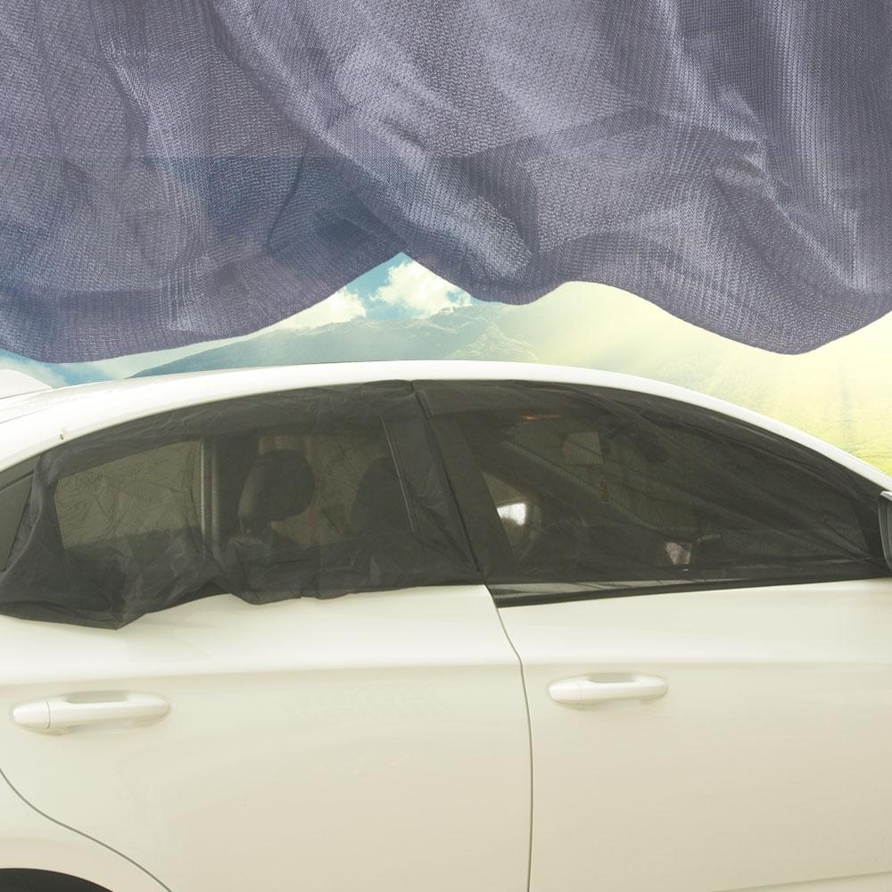 轎車 車用防蚊罩/遮陽罩(前窗2個+後窗2個)