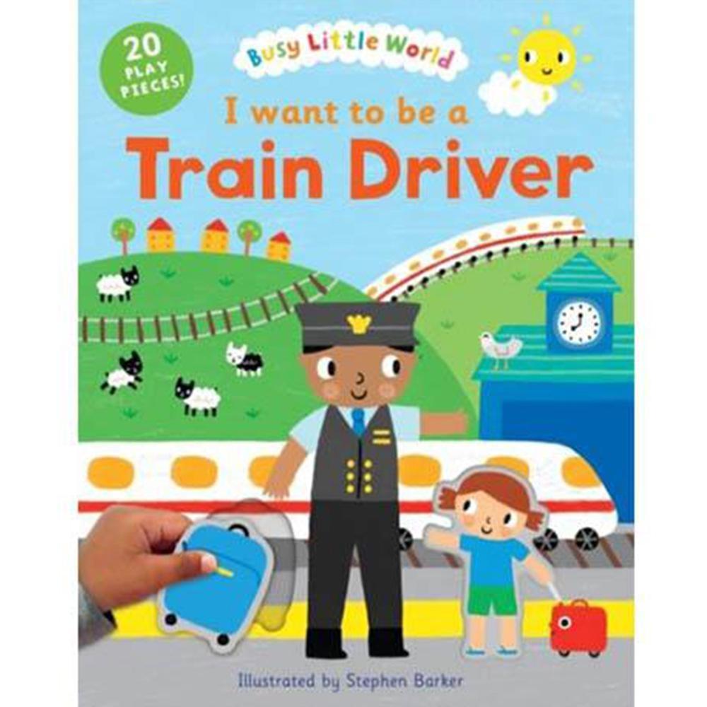 I Want To Be A Train Driver 我想要當火車駕駛硬頁活動書