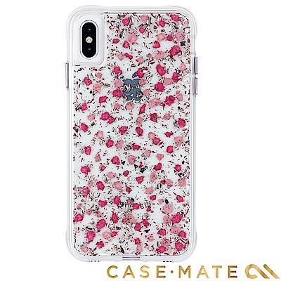 美國Case-Mate iPhoneXS Karat Petals防摔殼-細緻碎花