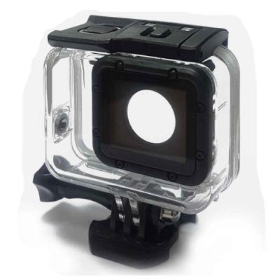 GoPro 副廠 HERO7 HERO6 HERO5 入門款 雙效防水殼(附觸控板及基座)